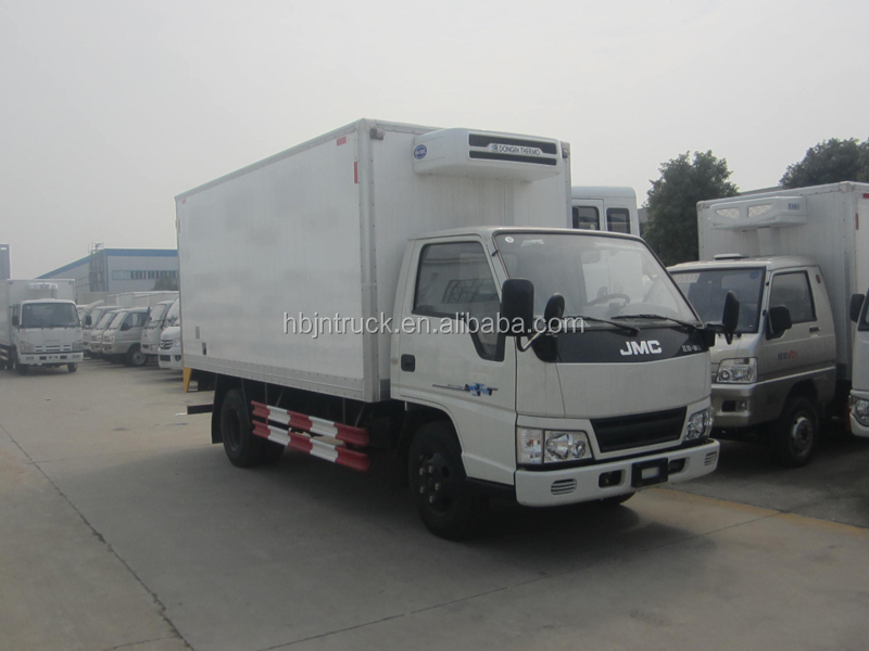 JMC freezer truck with Korea Dongin thermo refrigerator unit