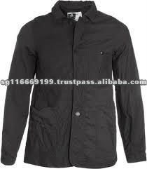 Comfortable Jacket Style Black Working Clothes