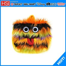 Fashion Stationary / Funny stationery pencil cases /plush pencil case of big eyes