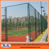 The Basketball Court Fence Chain Link Wire Mesh
