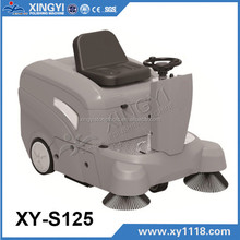 electric power sweeper,robotic floor sweeper,ride-on power sweeper XY-S125