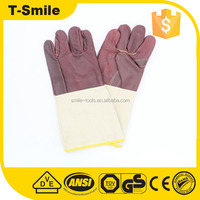 chemical resistance long sleeve protective breathable mechanic safety hand gloves competitive price
