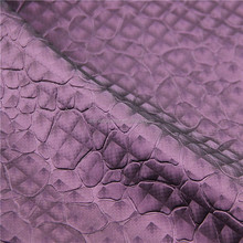 Fancy high quality PVC artificial upholstery leather materials
