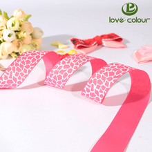 Customized printed cartoon character grosgrain ribbon