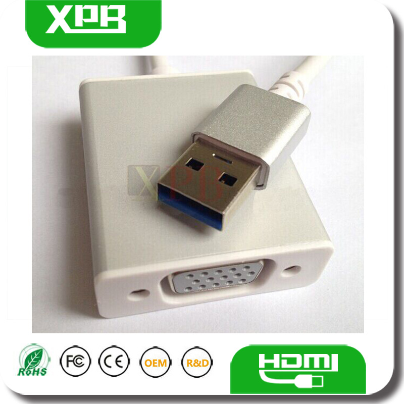 Female VGA TO USB Capture Adapter