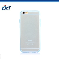 New sublimation TPU mobile phone cover for iphone 6 clear case