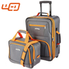 hot sale colorful Polyester Expandable Rockland premium brand travel trolley bag luggage