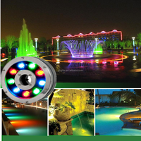 Stainless steel,IP68 led underwater light for fountains,swimming pool