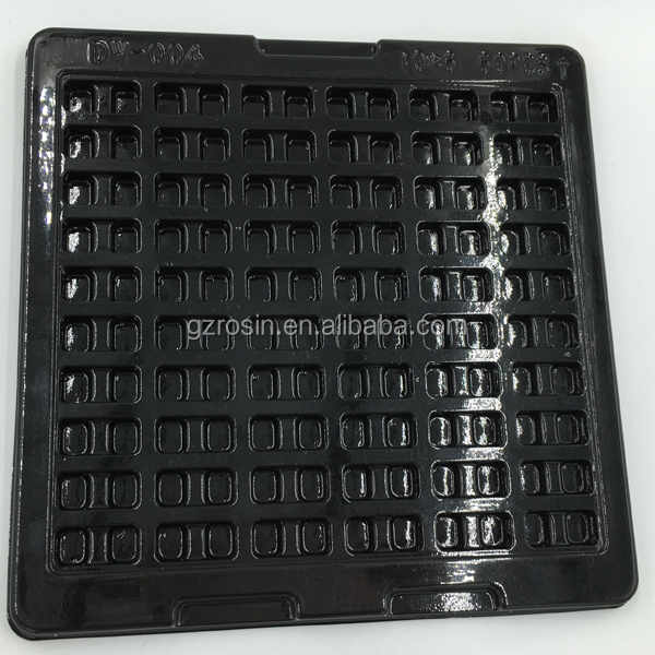 plastic electronics parts tray cheap anti-static tray for electronic component
