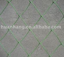 Green PVC coated Chain Link Wire Fence (High Quality)