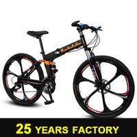 SOLOMO wholesale double disc brakes folding bicycle