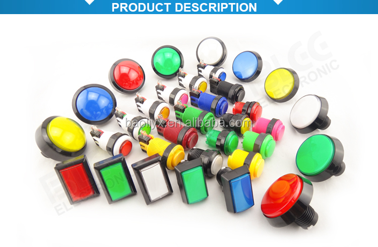 Hot Sale Electronics Spring Return Switches Push Button
