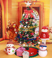 wholesale christmas gift different size 1.8 m PVC luxury Christmas trees package