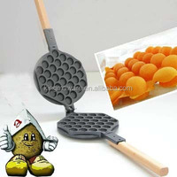 Stovetop Eggettes non electric waffle iron Egg Waffle maker Pan Mold Iron