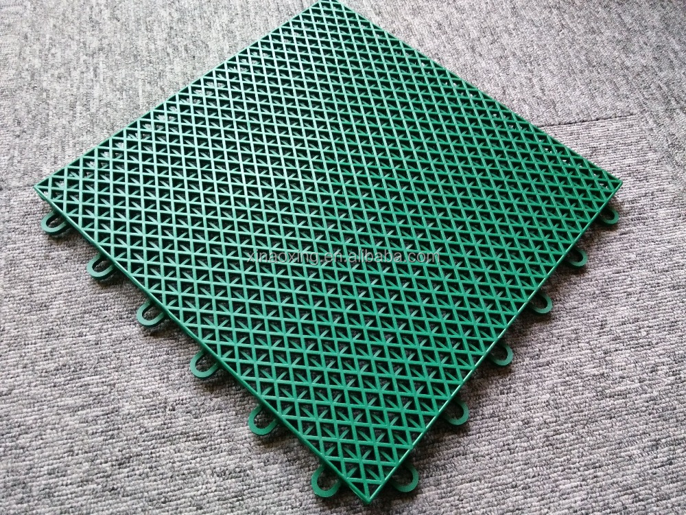 SUGE Brand Interlocking Floor Mat For Outdoor Tennis Court