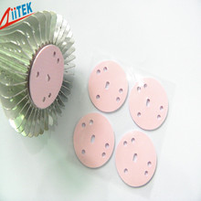 Good compression performance pink 2mmT thermal conductive gap filler pad made in China factory