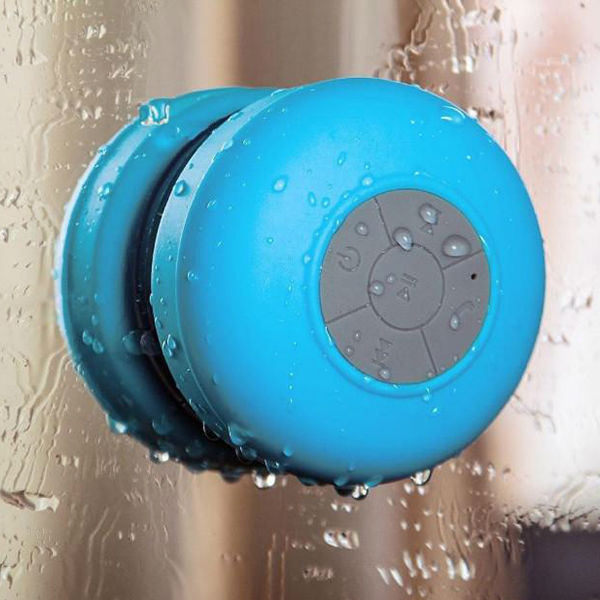 High Quality Water Resistant Bluetooth 3.0 Shower Speaker
