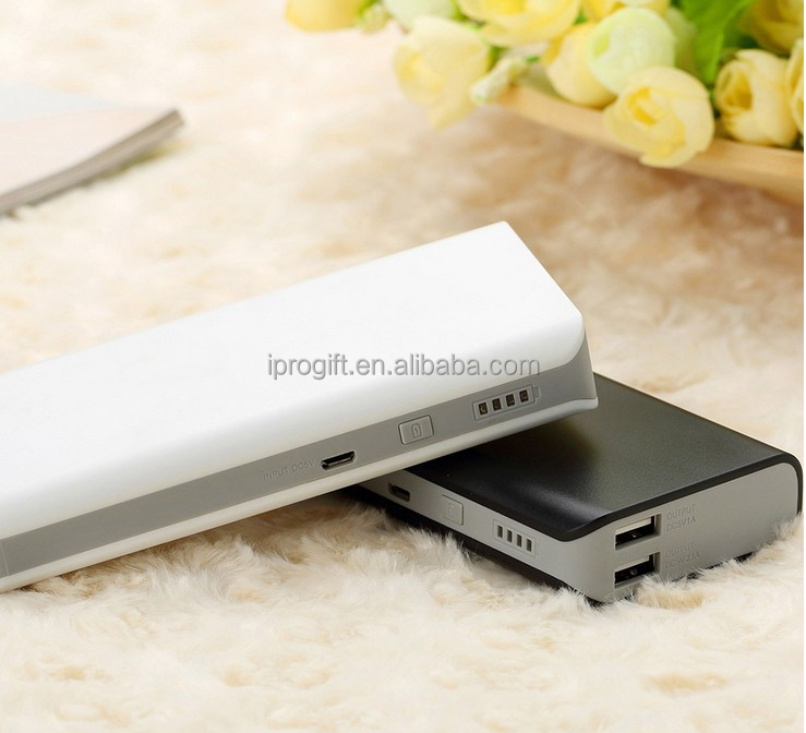 2016 Consumer electronics Portable slim high capacity power bank 15000mah