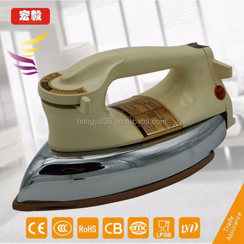 Cheap heavy duty electric auomatic dry iron for home use
