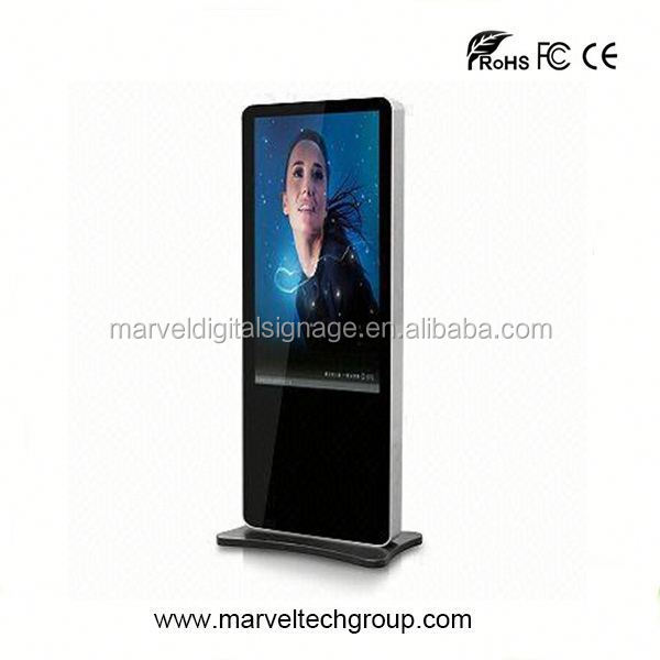 Stand alone indoor wireless wifi internet kiosk cabinets