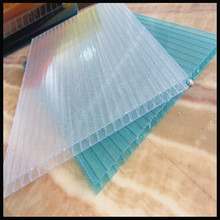 pc hollow sheet uv 50mu 12mm bayer/sabic materials any colors for roof and greenhouse