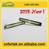 2014 new arrival super bright flexible cob led drl daytime running lights FK-008i-9 for all cars,100% waterproof