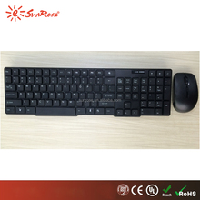 cheapest wireless combo 2.4g wireless computer keyboard and mice