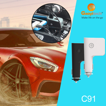 2017 fashion design with four usb car mount charger car smartphone accessories