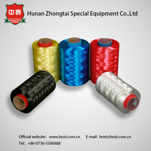 UHMWPE fiber for bullet proof material