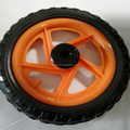 10 inch and 12 inch EVA baby doll stroller wheel