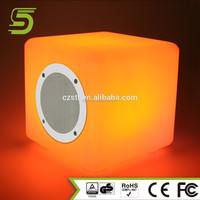 Crisp and clear sound fountain led speaker