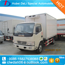 DONGFENG 4*2 95hp 5tons refrigerated van for sale