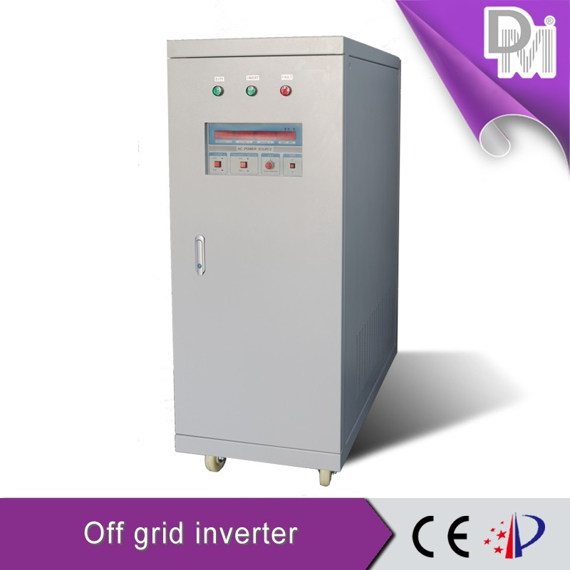 20KW 380V wind solar hybrid power inverter three phase pure sine wave inverter with AC bypass