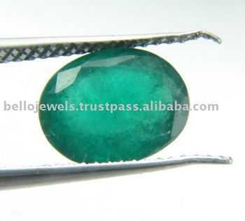 2.80 Ct Oval Shape Natural Zambian Emerald Gemstone