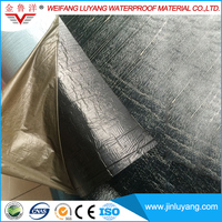 Self Adhesive Polymer Modified Bitumen Adhered Waterproof Roofing Underlayment