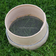 Wooden garden sieve,riddles-9mm mesh hole