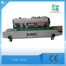 Continuous Plastic Bags/Film Sealing Machine/Heat plastic bag sealer