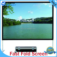 "Fast fold screen/quick fold Screen/Easy folding projection screen 180"" 4:3"