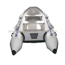 NB-AB-430-002 NingBang 4.3m PVC inflatable boat with aluminum floor