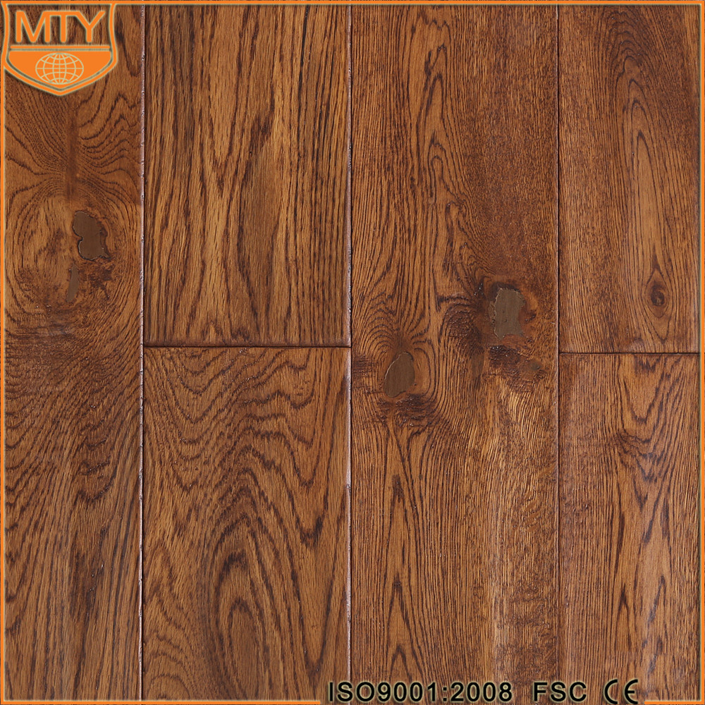 S-15 Hot Selling Hand Scraped Europe Oak Parquet Flooring