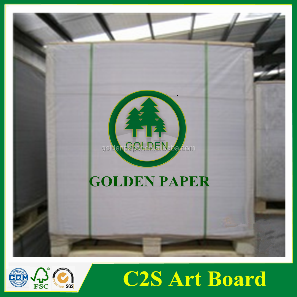 118gsm, 128gsm coated art paper gloss or matt in sheet or roll