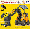skid steer attachments for utility small loader, avant compact loader, small loader