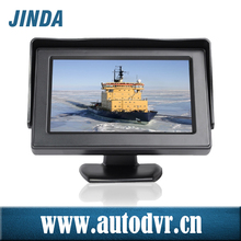 "New 3.5"" inch high resolution Wide Screen stand alone car monitor, 2-way reversing automatically display AV input"