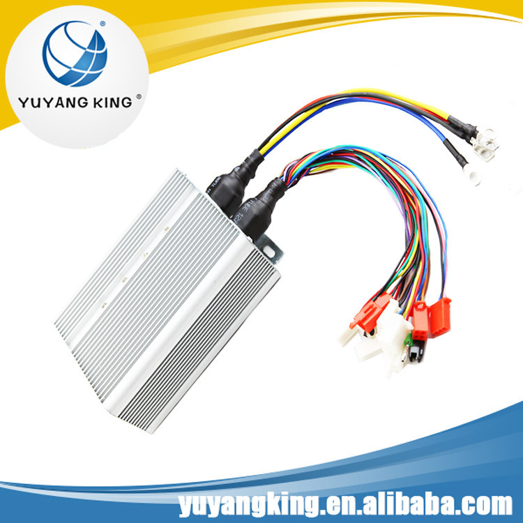 Electric Bike, Motocrycle, Scooter, tricycle rickshaw brushless dc motor speed Controller or driver
