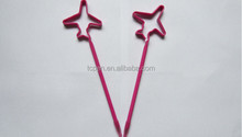 Star shaped pet material pen in straws pens