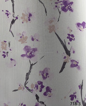 PVC Coated Wallpaper for Home Decoration