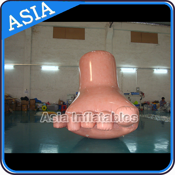 Advertising giant inflatable feet model