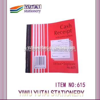 Affari Ricevuta Book-Duplicate/Triplecate Negozio Copie con carta carbone