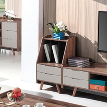 Bedroom furniture for small room wood mini bookcase S1802