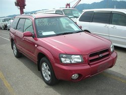 2002 Subaru Forester X/20 SG5 Used Car From Japan (84790)